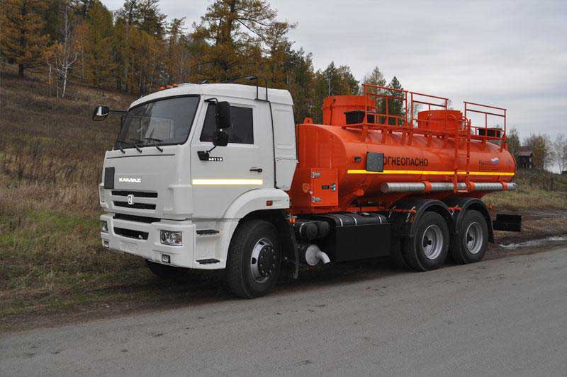 Камаз бензовоз 15 тонн