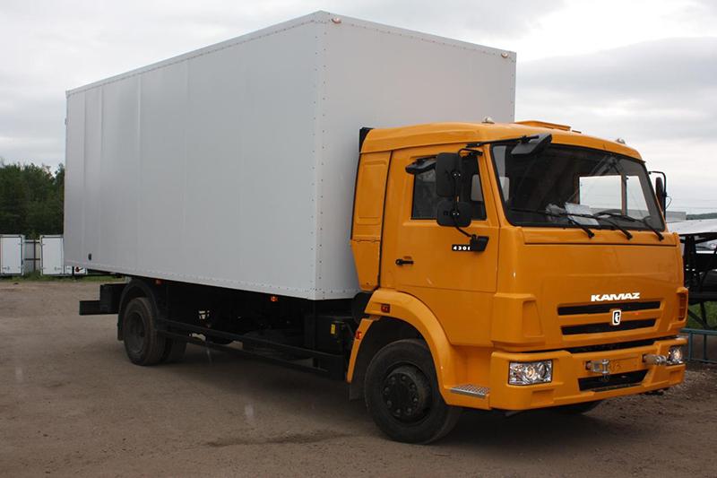 Камаз изотермический фургон