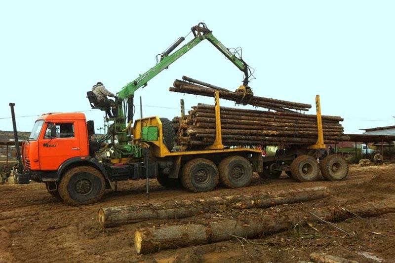 Камаз лесовоз 15 тонн