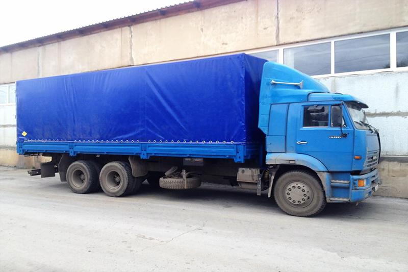 Камаз тент 15 тонн