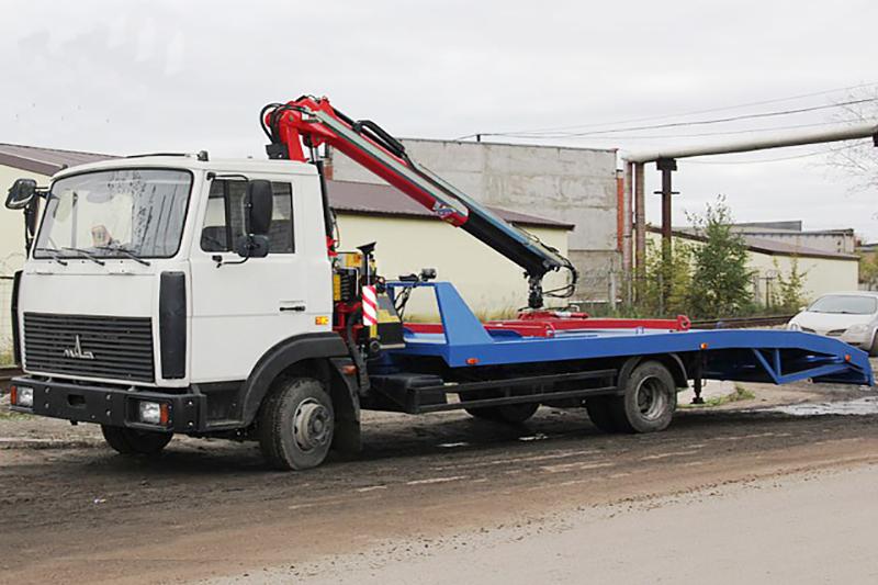 Маз эвакуатор 10 тонн