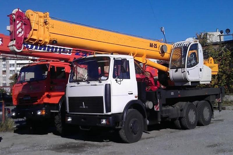 Маз кран 16 тонн