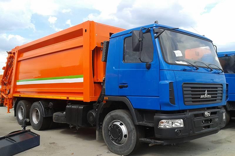 Маз мусоровоз 10 тонн
